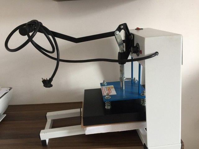 Máquina de estampa e impressora  - Foto 3