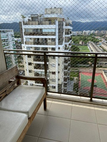 Excelente Apartamento 02 qts + 2vgs total infra Av. Américas Recreio - Foto 3