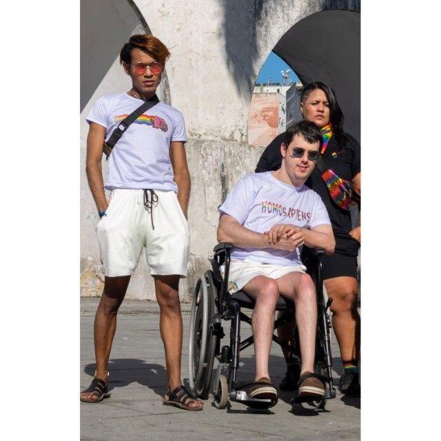 Camiseta Gatinho Arco-íris - Foto 2