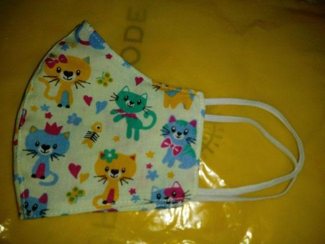 Mascara gatinho (tecido) - Foto 2