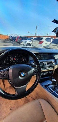 Torro! Ipva Pago!!! BMW 528I 2.0 Turbo - Top de Linha, 2013, interior Caramelo, 245 Cv - Foto 18