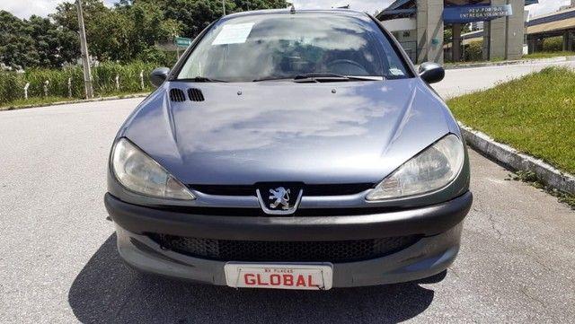 Direto Sem Consulta na Global-Peugeot 206 Pres 1.4 -2005 Completo r$7.790 Leia o Anúncio - Foto 6
