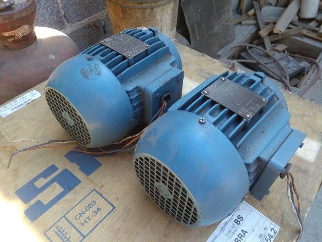 Dois Motores Weg  trif 2cv 3400 RPM - Foto 4