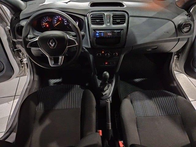 Logan Life 1.0 12v 2020 Mecânica Nissan! Copletíssimo! Troco e financio! Chama no zap!!! - Foto 5