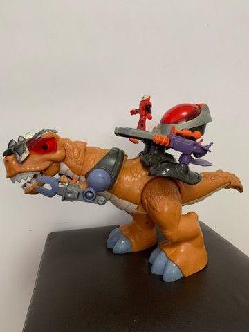 Dinossauro Fisher Price Imaginext T-rex - Foto 3