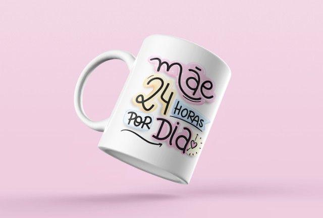 Canecas Personalizadas Dia das Mães - Foto 2