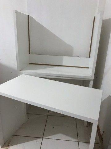Duas mesas nunca usadas! Por 300 Reais  - Foto 3