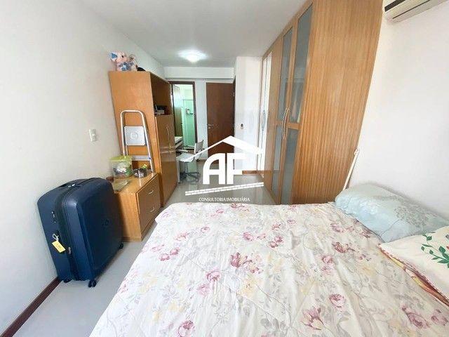 Apartamento com varanda com vista permanente para o mar - Localizado na Ponta Verde - Foto 9