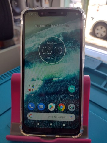 Motorola One Polar 64 GB Impecável!!!