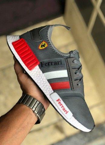 Vendo tênis Adidas nmd e nmd Ferrari ( 120 com entrega ) - Foto 4