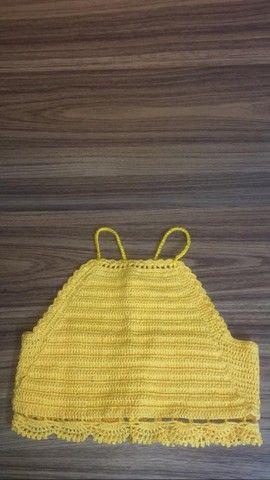 Blusinhas de crochê - Foto 4