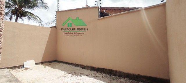 Ampla casa nova com dois quartos pertinho da rádio mar azul em Paracuru - Foto 14