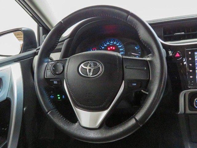 Toyota Corolla 1.8 GLI Upper Flex Automático 2018/2018 - Foto 13