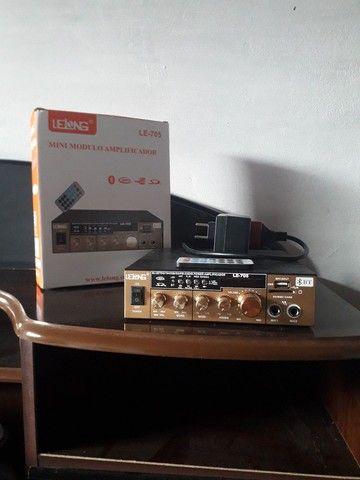 Mini Amplificador Lelong  Pouco uso Novo/Usado
