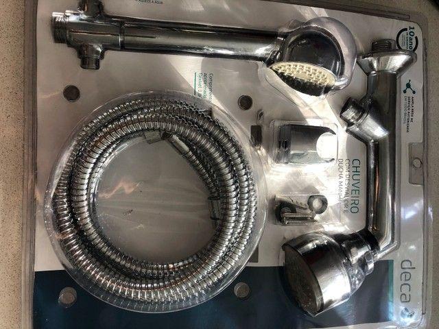 Chuveiro deca max com desviador  - Foto 4