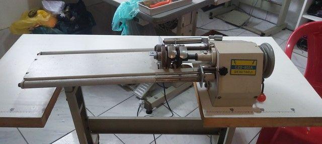 Maquina de cortar viés 2 facas - Foto 2