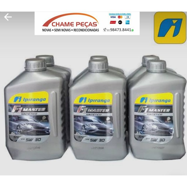 Oleo 5w30 100% sintético Ipiranga