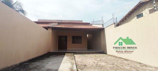 Ampla casa nova com dois quartos pertinho da rádio mar azul em Paracuru - Foto 2