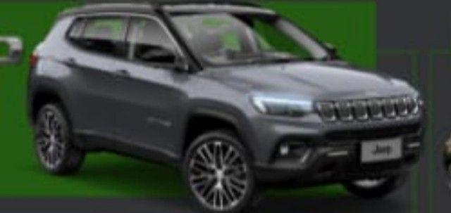 Novo Jeep Compass Limited Turbo Diesel 2022 para PCD, PJ ou produtor Rural