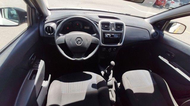 Renault Sandero 2018 Completo 3 cilindros Flex - Foto 12