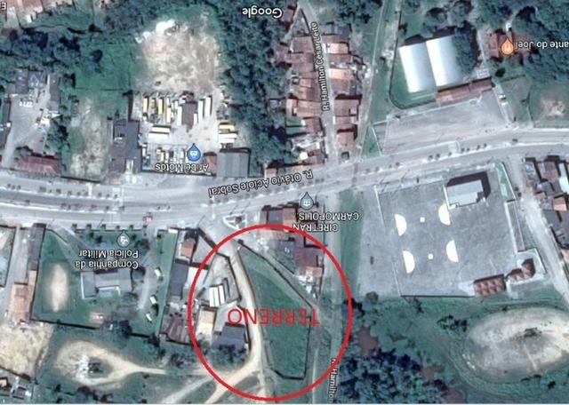 Terreno murado com guarita em Carmópolis-SE (Posição privilegiada)