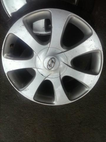 Jogo de roda 17 Hyundai Elantra