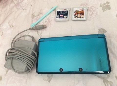 Vendo ou troco - Nintendo 3DS + 4 jogos