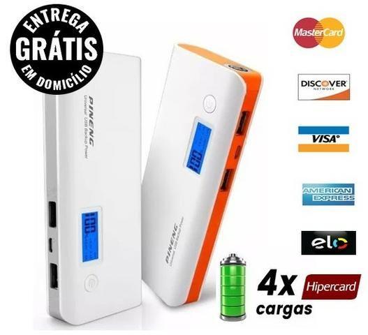 Bateria Power bank pineng 10.000 ah Original - Novo - Entrega Grátis