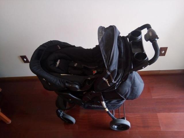 Carrinho para bebê+bebê conforto (6 meses de uso)