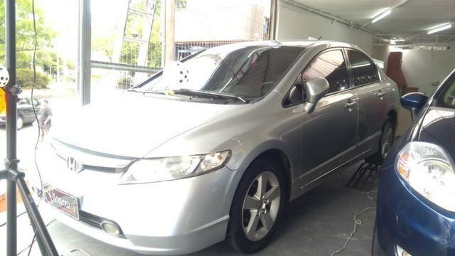 Honda Civic Lxs 1.8 Flex Automatico Completo Novissimo