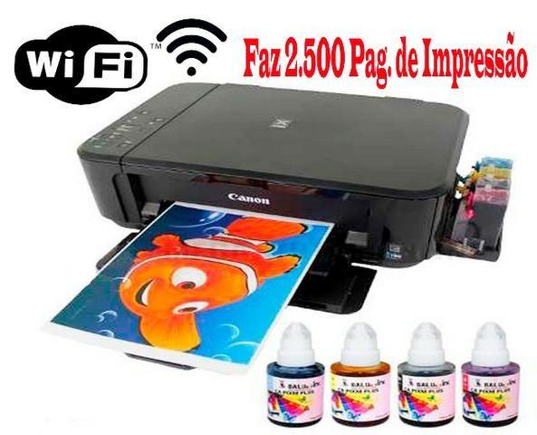 Impressora tanque Bulk de Tinta ) Imprima ++ ) Promoção Produto Novo 3 Meses de Garantia - Foto 2