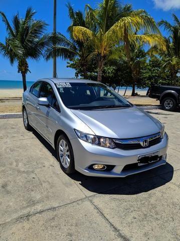 Honda Civic Semi Novo Completo e Automatico 2014 Conservado - Foto 6