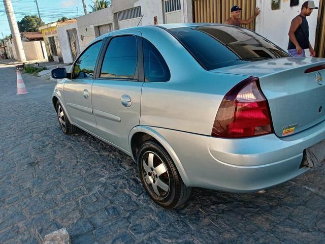 Vendo Corsa Sedã Premium 1.4 2010 completo de Tudo! - Foto 7
