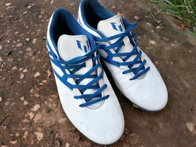 ad81119f41 Chuteira campo 39 40 Adidas Especial Messi! - Esportes e ginástica ...
