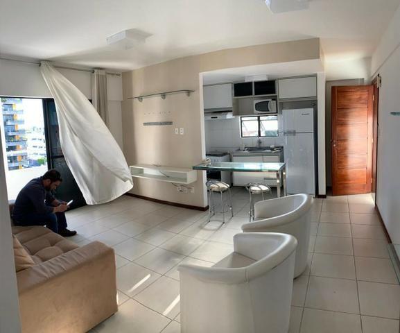 Alugo excelente flat mobiliado no Centro - Foto 13