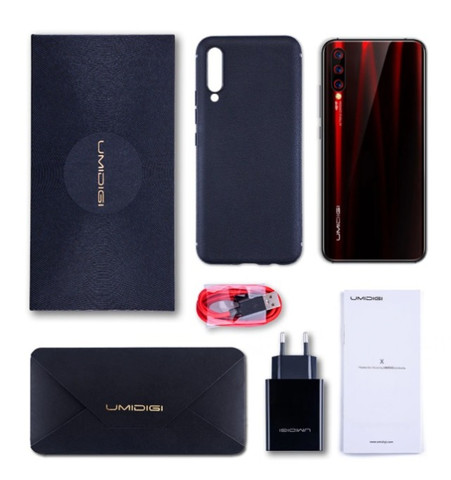 Smartphone Umidigi X Dual Sim 128 Gb Flame Black 4 Gb Ram - Foto 4