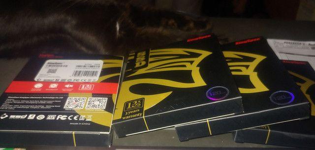 SSD 120GB Novinho. Na caixa - Foto 2