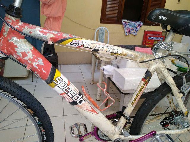 Vendo bicicleta speedo evolution com 18 velocidades.  - Foto 2