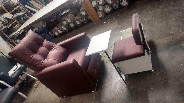 Cadeira hidráulica @ lavatório @ maca @ poltrona @ Mocho @ manicure e mais - Foto 4