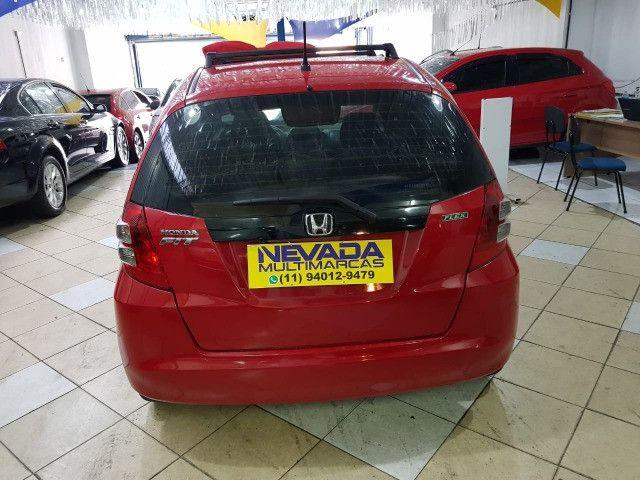 Honda Fit 2012 1.4 Flex LX Vermelho Estudo Troca e Financio - Foto 5