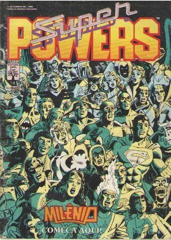 Kit Sagas Completas: 5 revistas Super-Powers e DC Especial - Foto 3