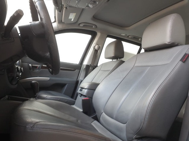 Hyundai Santa Fe 3.5 Mpfi GLS 7 L V6 2010/2011 Prata Blindado - Foto 8