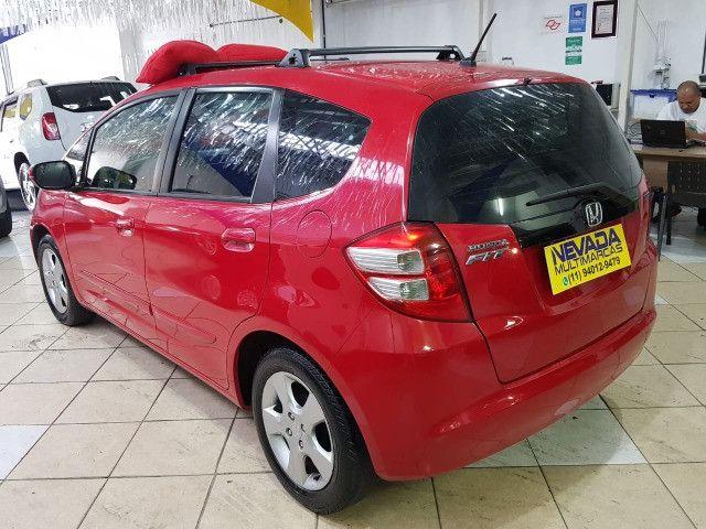 Honda Fit 2012 1.4 Flex LX Vermelho Estudo Troca e Financio - Foto 6