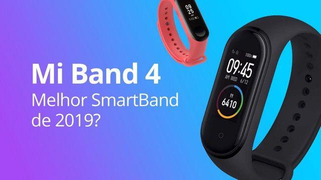 Smartwatch Xiaomi Mi Band 4 Relógio Inteligente Versão Globa - Foto 6
