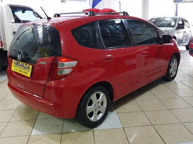 Honda Fit 2012 1.4 Flex LX Vermelho Estudo Troca e Financio - Foto 4