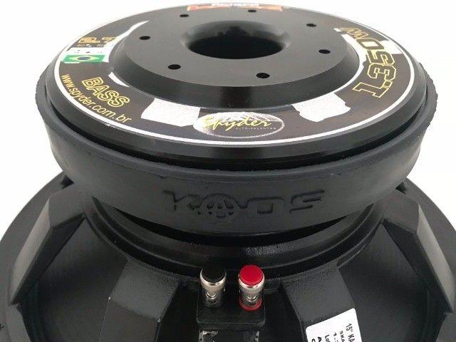 Spyder Kaos 15'' 1350 4 Ohms NOVO  - Foto 3