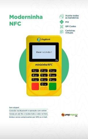Minizinha nfc, aceita pagamento por aproximação, novas