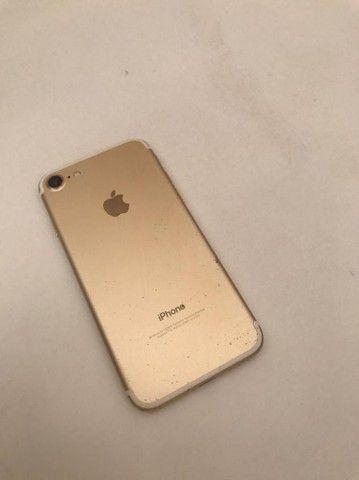 iPhone 7 Dourado aceito troca por 6sPlus - Foto 6