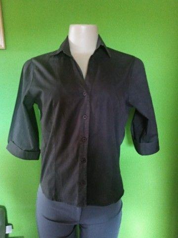 Camisa Feminina Preta -M