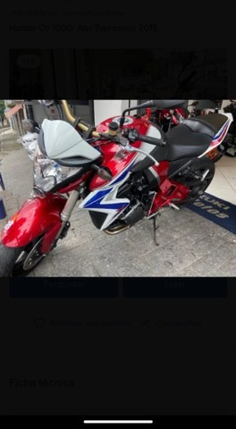 Moto cb 1000 ABS  - Foto 2